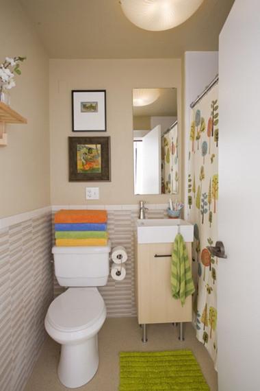 Bài trí nhà tắm tiện ích với không gian nhỏ hẹp 9