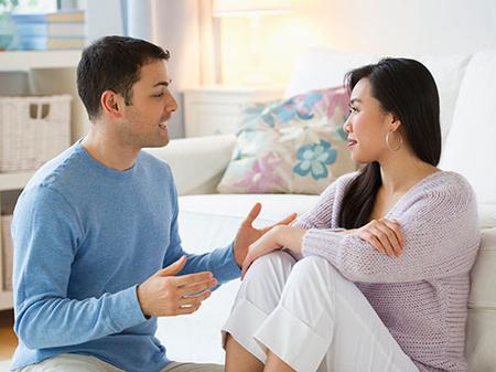 Vợ chồng cần thảo luận chi tiết cho việc sinh con
