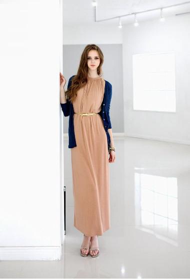 Váy maxi ngọt ngào, quyến rũ trong tiết trời Thu 11