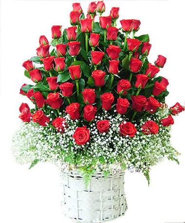 Những mẫu lẵng hoa hồng đẹp lung linh tặng nàng nhân ngày 20/10 7
