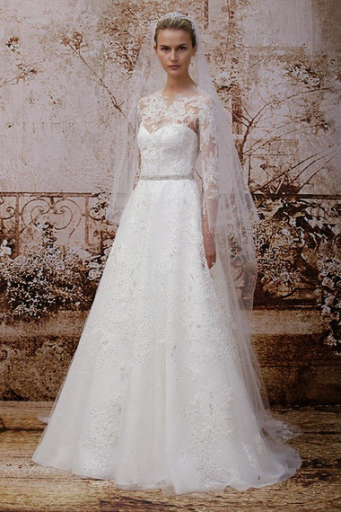 Váy cưới dáng dài 10