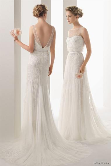 Váy cưới hở lưng 1