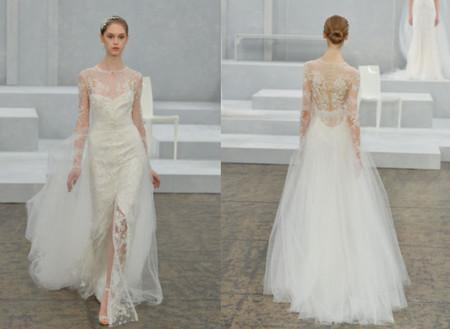 Váy cưới hở lưng 2