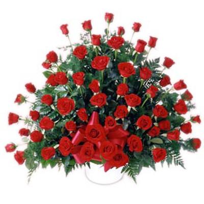 Những mẫu lẵng hoa hồng đẹp lung linh tặng nàng nhân ngày 20/10 13