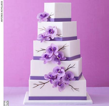 Những mẫu bánh cưới hấp dẫn các cặp đôi trong đám cưới Thu Đông 2014 13