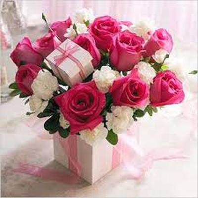 Những mẫu lẵng hoa hồng đẹp lung linh tặng nàng nhân ngày 20/10 10