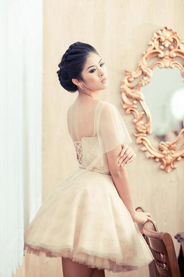 Váy cưới ngắn 1