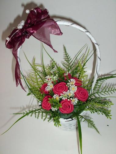 Những mẫu lẵng hoa hồng đẹp lung linh tặng nàng nhân ngày 20/10 14