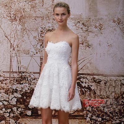 Váy cưới ngắn 2