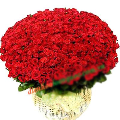 Những mẫu lẵng hoa hồng đẹp lung linh tặng nàng nhân ngày 20/10 16