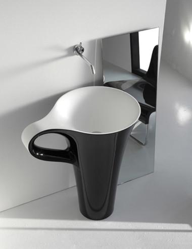Bồn rửa mặt hình ly cà phê 1