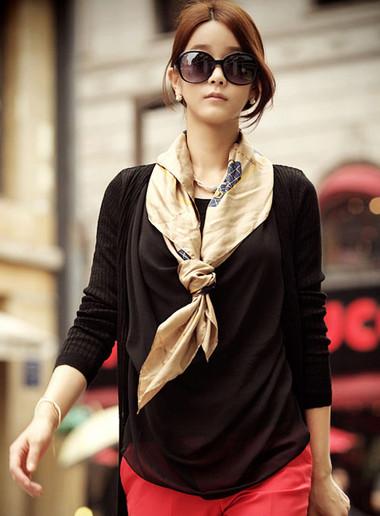 Điệu đà, nữ tính trong những ngày đông lạnh với khăn quàng cổ 2