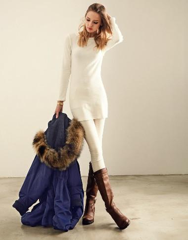 Sành điệu, phong cách với áo len dáng dài 6