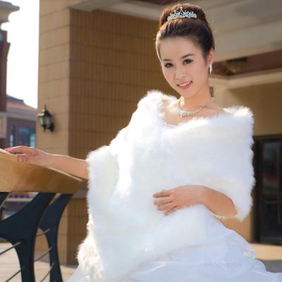 Áo khoác lông cho cô dâu thêm ấm áp trong mùa đông 8