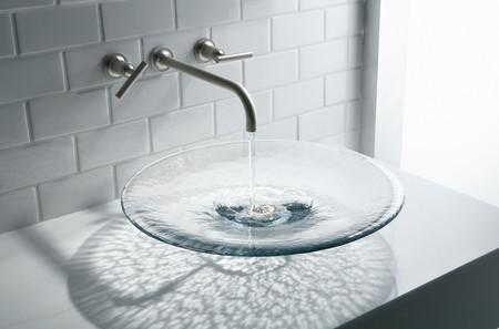 Bồn rửa mặt thủy tinh 1