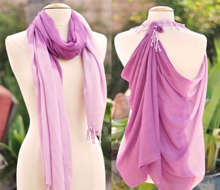 Điệu đà, nữ tính trong những ngày đông lạnh với khăn quàng cổ 8