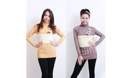 Sành điệu, phong cách với áo len dáng dài 12