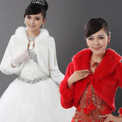 Áo khoác lông cho cô dâu thêm ấm áp trong mùa đông 12