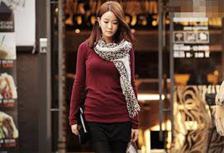 Điệu đà, nữ tính trong những ngày đông lạnh với khăn quàng cổ 15