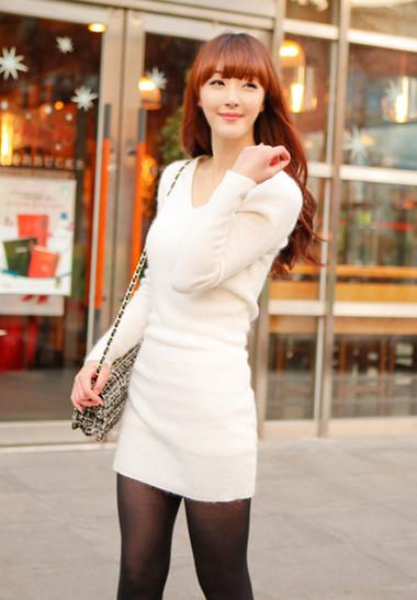 Sành điệu, phong cách với áo len dáng dài 2
