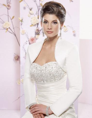 Áo khoác lông cho cô dâu thêm ấm áp trong mùa đông 3