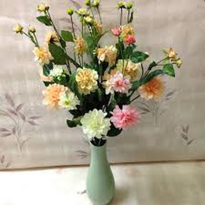 Phòng khách thêm rực rỡ với hoa thược dược - hoa của mùa Đông 4