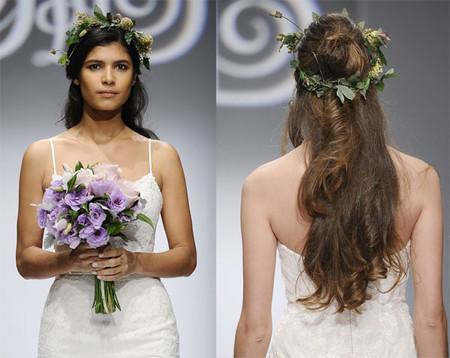 Những kiểu tóc dài cho cô dâu thêm rạng rỡ 2