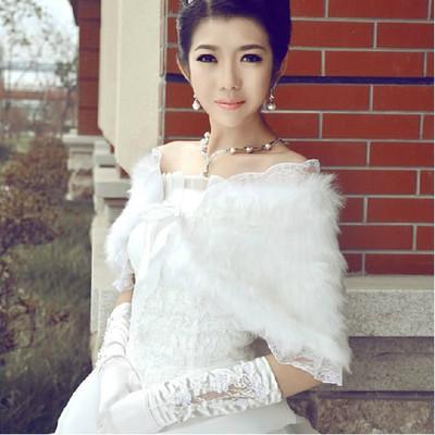 Áo khoác lông cho cô dâu thêm ấm áp trong mùa đông 5