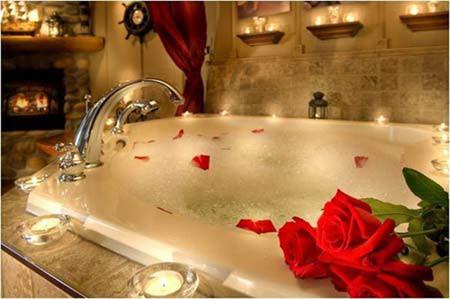 Phòng tắm đêm lãng mạn 2