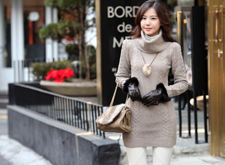 Sành điệu, phong cách với áo len dáng dài 10
