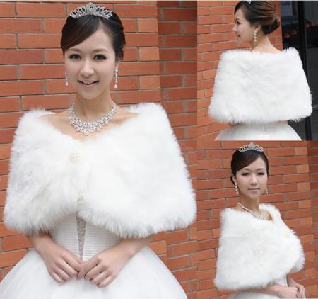 Áo khoác lông cho cô dâu thêm ấm áp trong mùa đông 6
