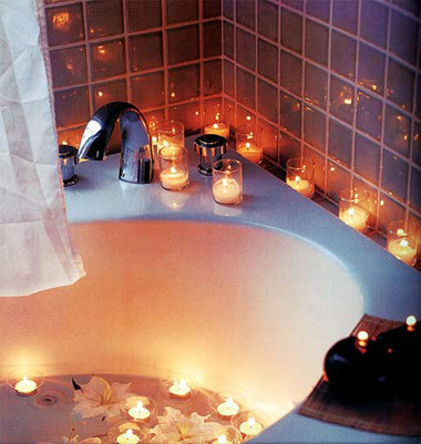 Phòng tắm đêm lãng mạn 3