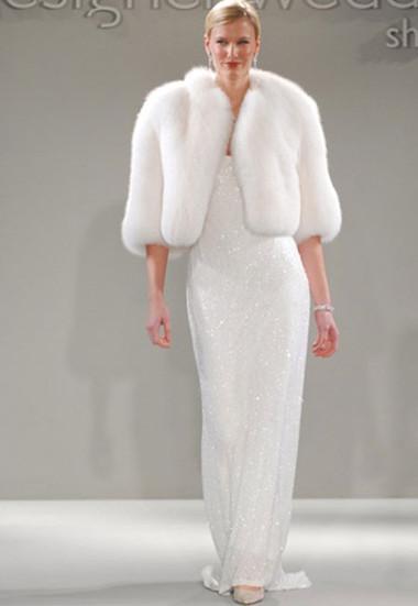 Áo khoác lông cho cô dâu thêm ấm áp trong mùa đông 7