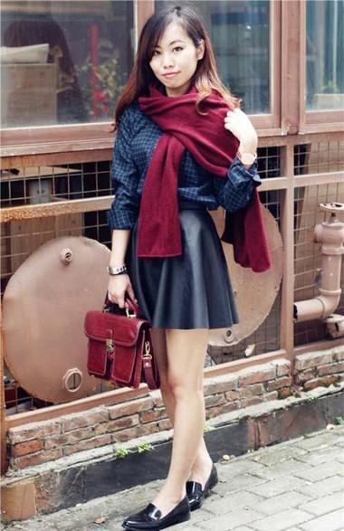 Điệu đà, nữ tính trong những ngày đông lạnh với khăn quàng cổ 12