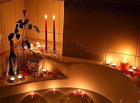 Phòng tắm đêm lãng mạn 4