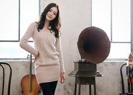 Sành điệu, phong cách với áo len dáng dài 7