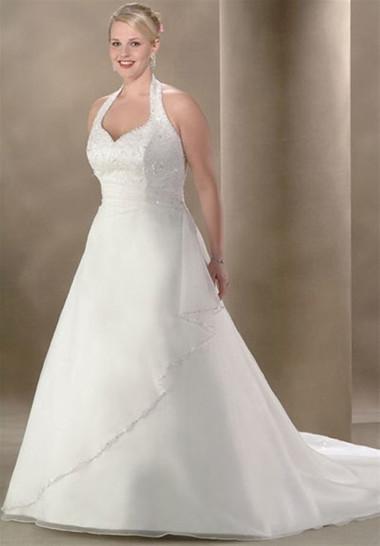 Bí quyết giúp bạn gái mũm mĩm chọn được chiếc váy cưới như ý 1
