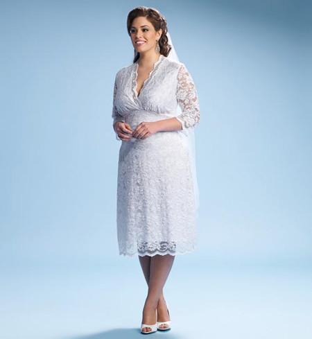 Bí quyết giúp bạn gái mũm mĩm chọn được chiếc váy cưới như ý 3