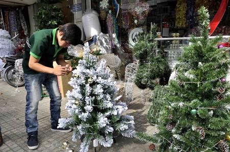 Chọn cây thông trang trí đón mừng Giáng sinh 6