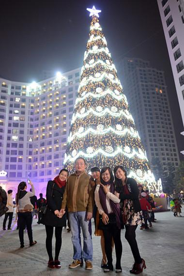 Tưng bừng đón Giáng sinh với hình ảnh cây thông  5