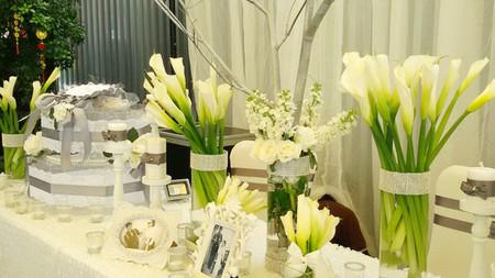 Vẻ đẹp thanh khiết của hoa Rum cho cô dâu đẹp rạng ngời trong ngày cưới 1