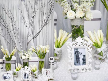 Hoa rum được nhiều đám cưới sang trọng lựa chọn để trang trí không gian tiệc cưới.
