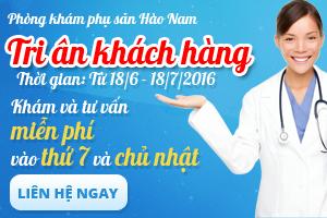 Phòng khám phụ sản Hào Nam tri ân khách hàng