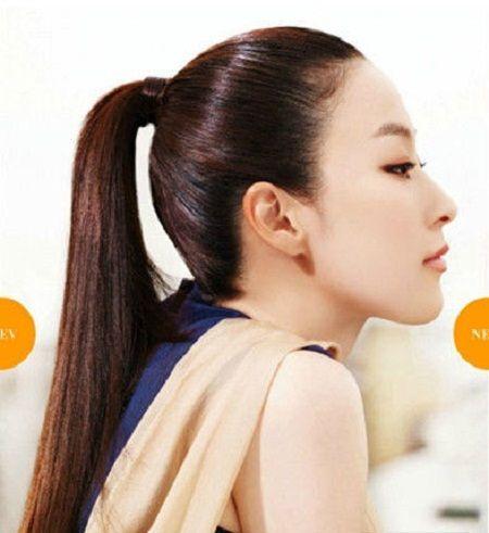 Các kiểu tóc đuôi ngựa quyến rũ nhất năm 2018 4