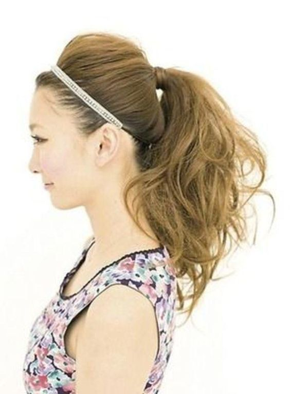 Các kiểu tóc đuôi ngựa quyến rũ nhất năm 2018 5