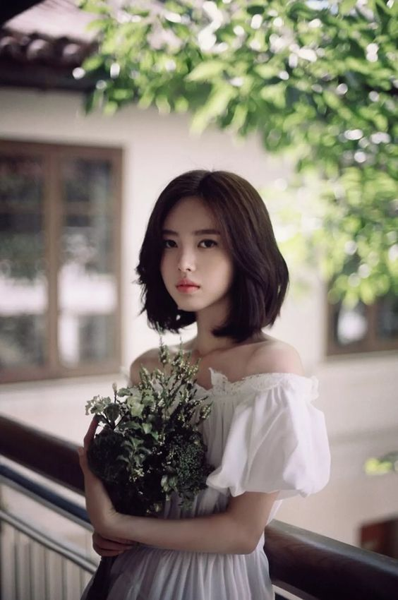 Tóc ngắn style Hàn Quốc cho mùa hè 2018 4