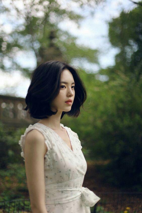 Tóc ngắn style Hàn Quốc cho mùa hè 2018 10