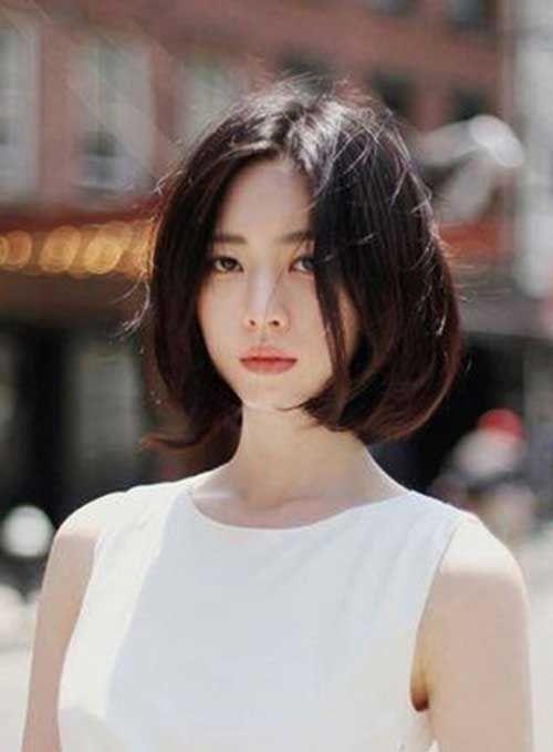 Tóc ngắn style Hàn Quốc cho mùa hè 2018 12