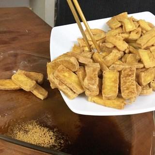 Cách nấumón cá kèo chay kho dưa cải 3