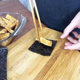 Cách nấumón cá kèo chay kho dưa cải 4